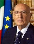 Präsident Napolitano