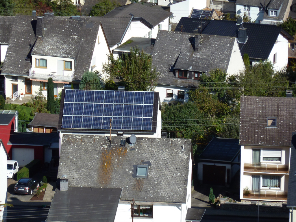 Solardächer gehören in Deutschland schon zur Normalität.