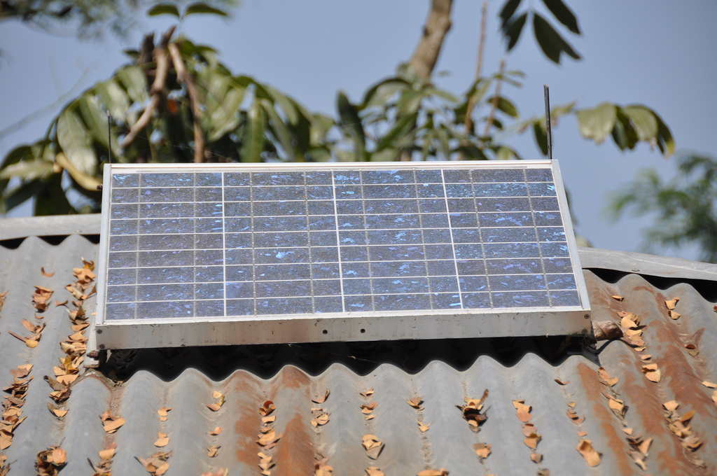 Solarmodul Bangladesch