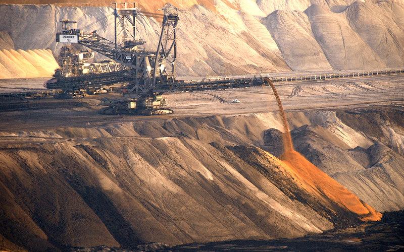 Braunkohle-Tagebau Garzweiler