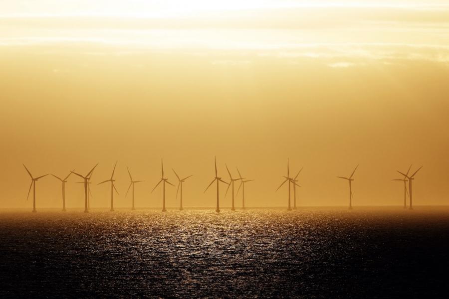 Windräder in Schweden
